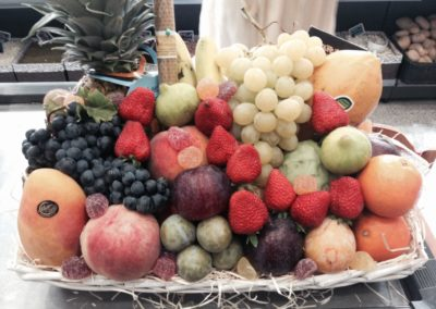 bandeja de fruta