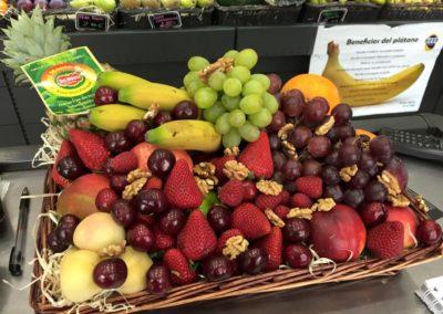 Bandeja de fruta variada