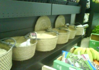 productos ecológicos legumbres interior tienda