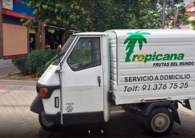 Moto carro  de Tropicana