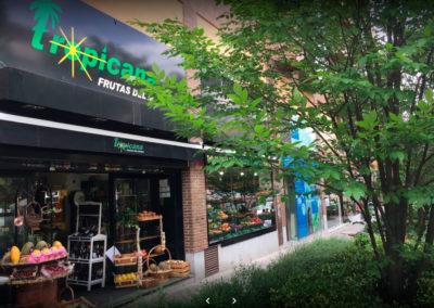 Frutería ecológica en Madrid