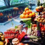 Cestas de frutas en Halloween...