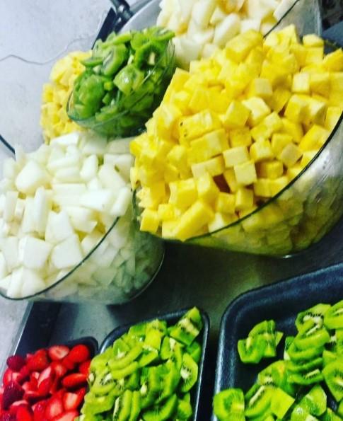 Si te de pereza preparar fruta nosotros lo hacemos por ti!!!